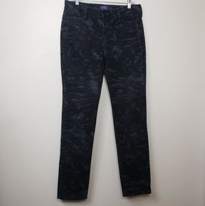 Not Your Daughters Jeans Black And Gray Stretch 12